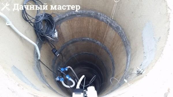 Подключенная система водоснабжения из колодца через буферную емкость
