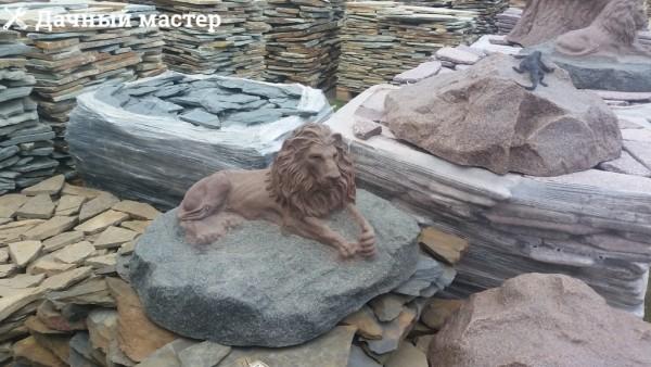 Элементы декора из камня