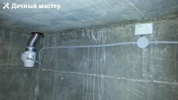 Вытяжная принудительная вентиляция с датчиком влажности
