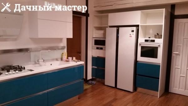 Кухня после отделки