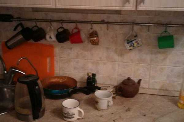 Кухня ДО Уборки