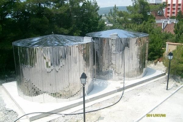 Водохранилище на даче