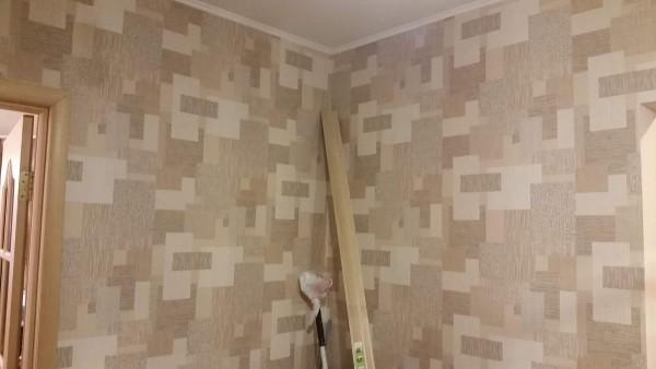 Переклейка обоев (ремонт) в двухкомнатной квартире