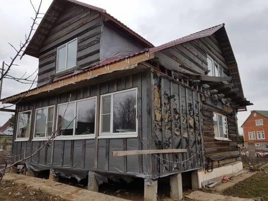 Дачный дом - объект реконструкции