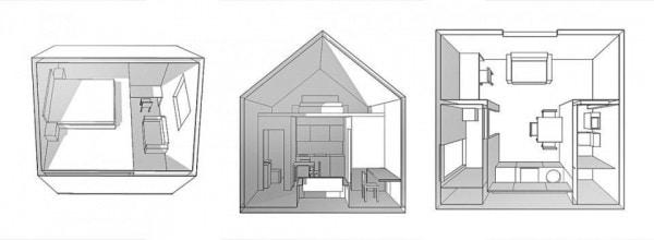 Капсульный дом - идеальный вариант для жизни на природе