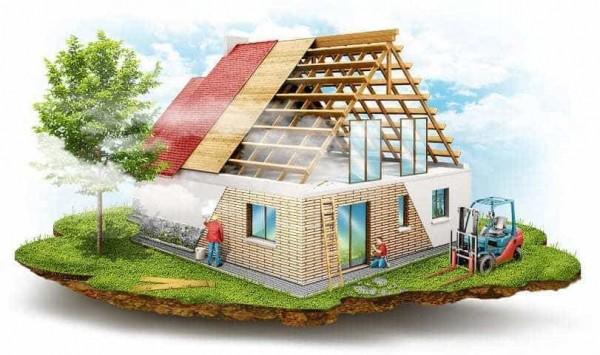 Строительство дачного дома под ключ