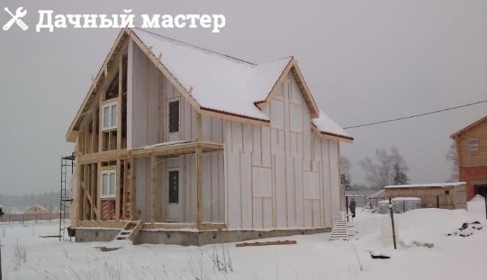 Установка пластиковых окон в деревянном каркасном доме