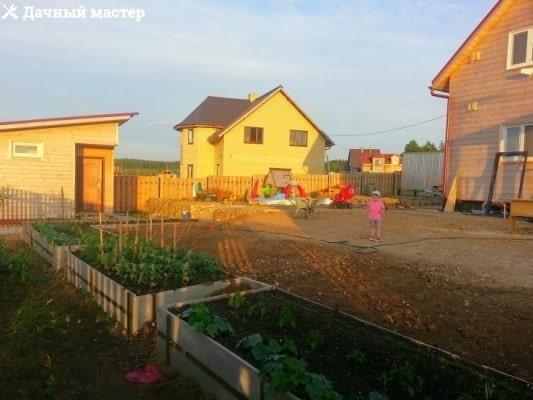 Планирование придомовй площадки
