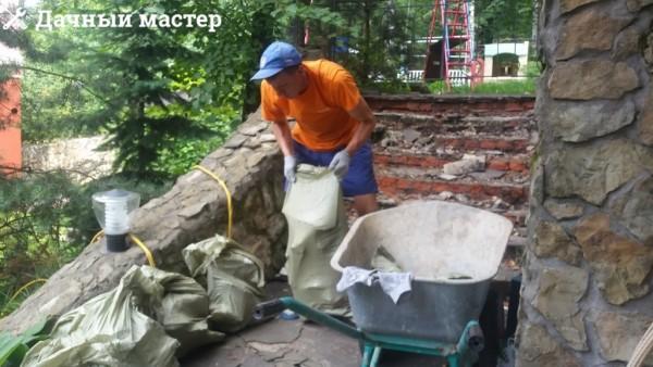 Складирование и вывоз мусора