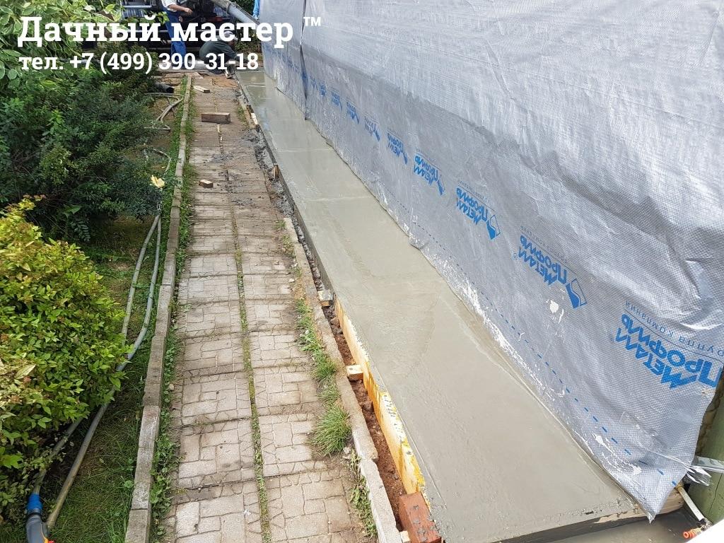 Выглаживание бетонной поверхности