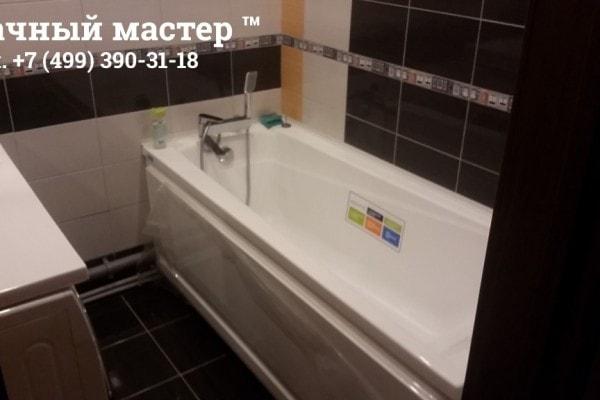 Ванная комната после отделки