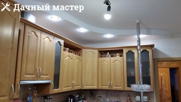 Монтаж и подключение софитов на кухне