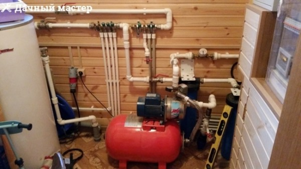 Оборудование системы водоснабжения