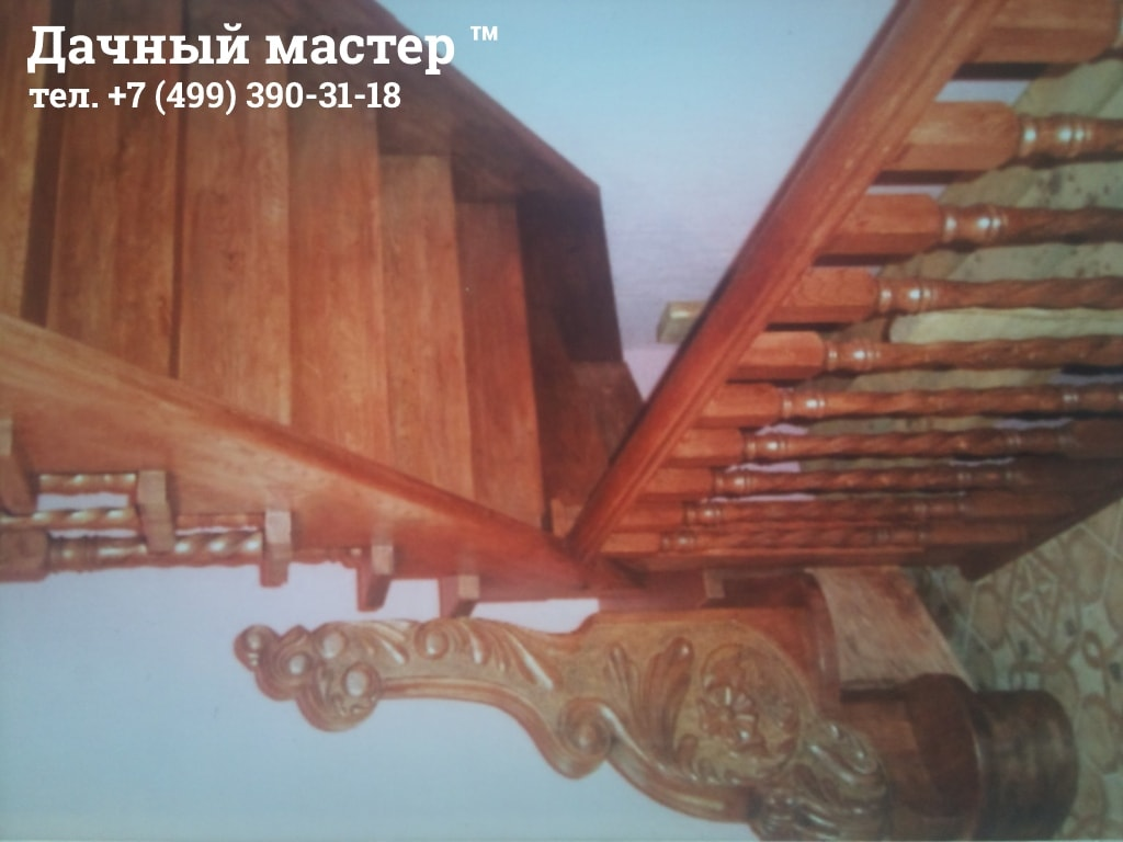 Лестница с декором