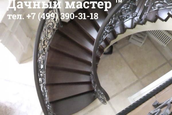Полукруглая лестница