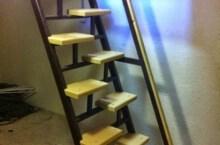Строительство лестницы в подвал