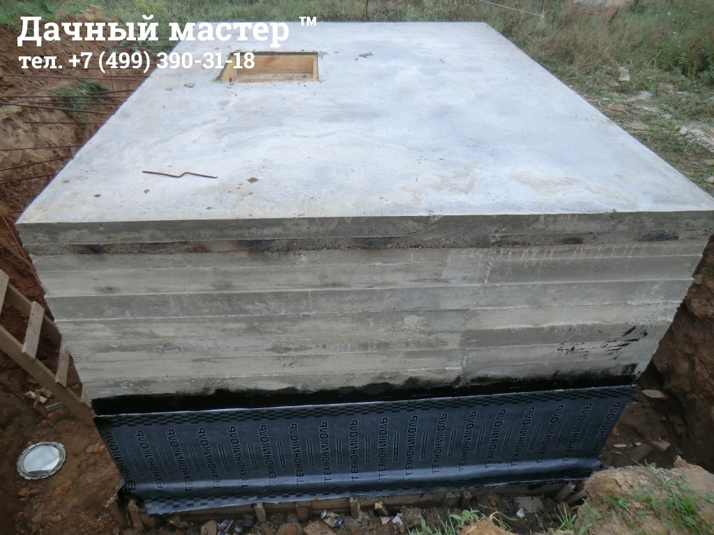 Гидроизоляция боковых стен подвала (погреба)