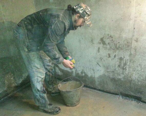 Гидроизоляция подвального помещения смесями Penetron
