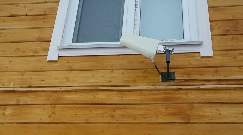 Установка направленной GSM антенны