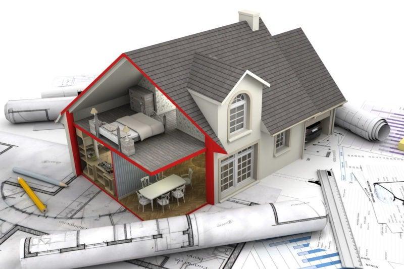 Проектирование строительства или реконструкции дачного дома