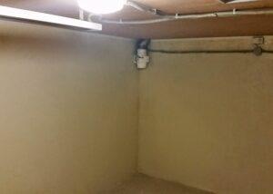 Отделка подвального помещения бетонного погреба
