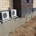 Development of blind area and subdrainage of section