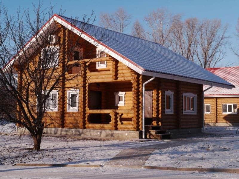 Срубовой деревянный дом