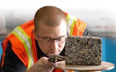 Определение качества строительных материалов