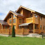 Дома из дерева под ключ – рациональное решение для любителей загородной жизни