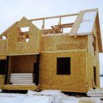 Преимущества каркасных домов из SIP-панелей