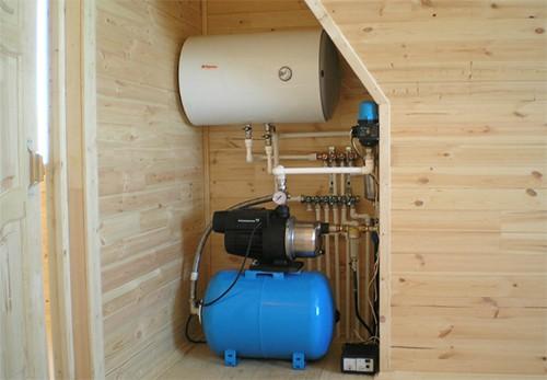 Водоснабжение и отопление дачного дома