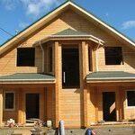 Дома из натуральной древесины: клееный брус