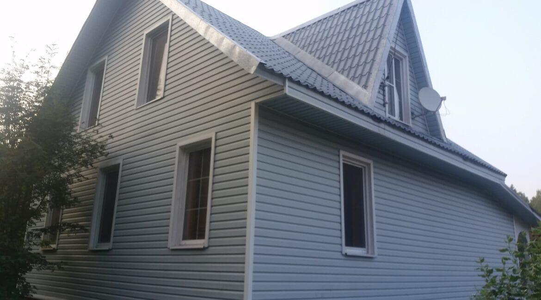 Ремонт (реконструкция) фасада дачного дома