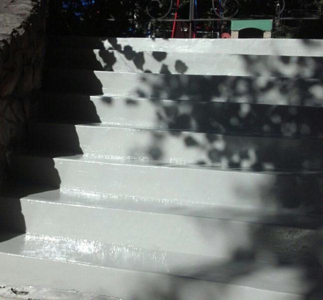 Реконструкция бетонной лестницы