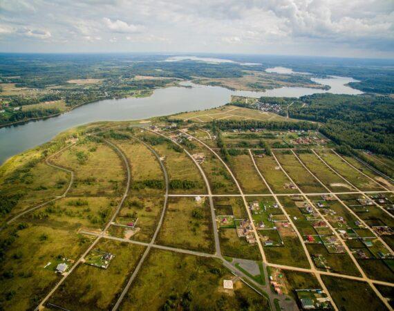 Аэрофотосъемка дачных поселков