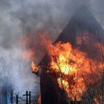 В Новосибирске участились пожары дач в 2016 году