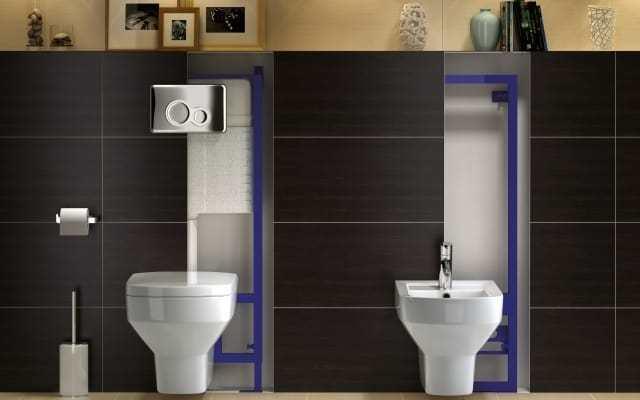Инсталляция для ванной комнаты