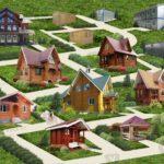 Типы дачных деревянных домов: преимущества и недостатки