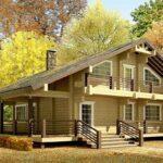 Строительство частных домов осенью