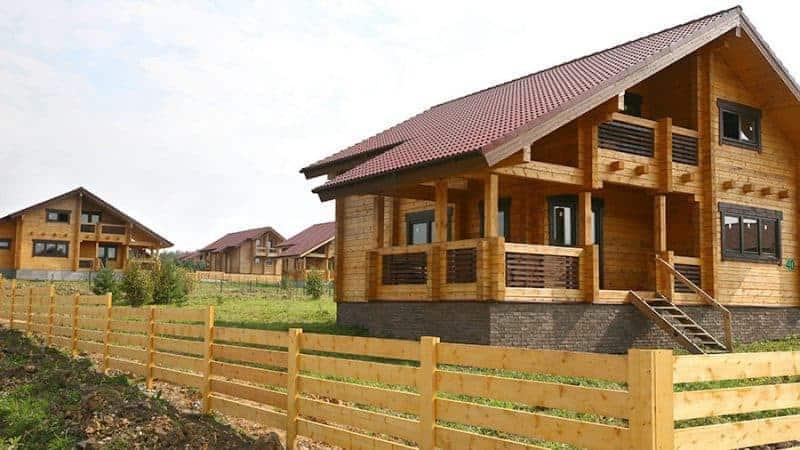 Кредиты на строительство деревянных домов