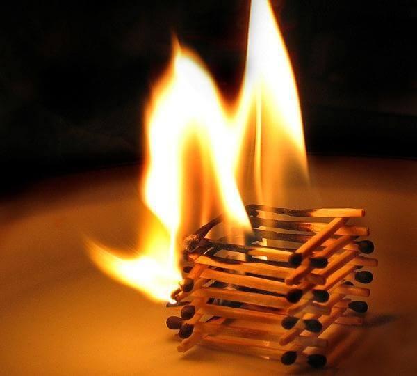 Профилактика пожара на даче в зимний период