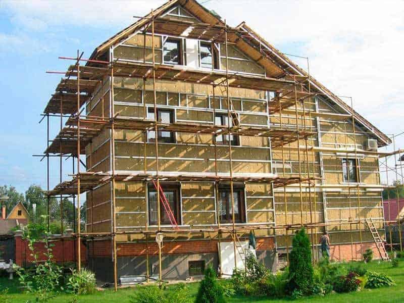 деревянный дом реконструкция