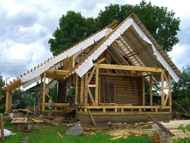Реконструкция старого дачного дома