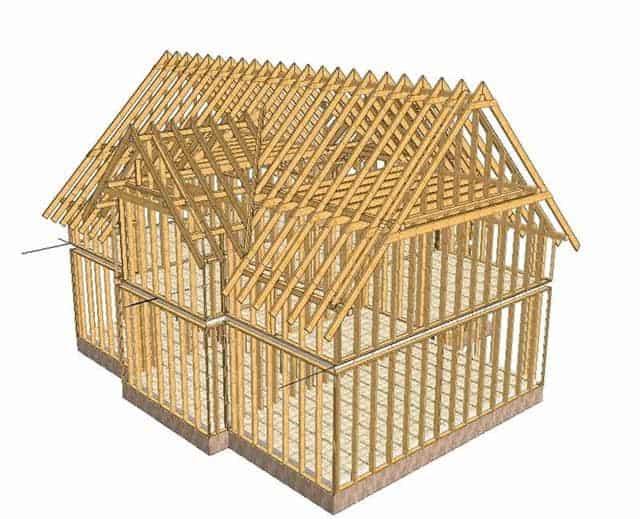 Каркасное строительство загородных домов