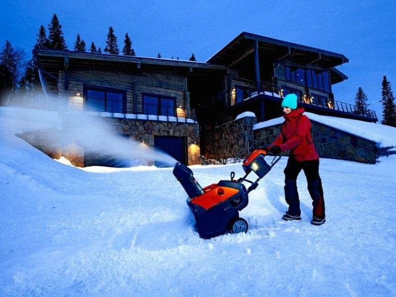 What is the best snow thrower or snow plow walk-behind?