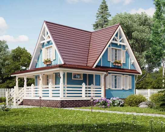 Reconstruction of wooden houses in Moscow region