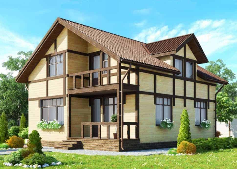 Строительство, достройка и реконструкция каркасных загородных домов