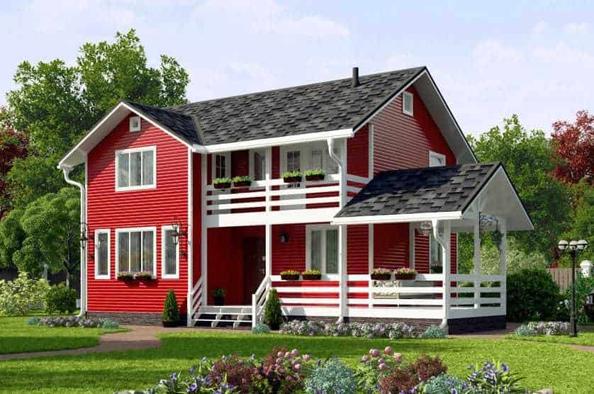 Country and garden houses turnkey