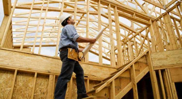 Frame house under the key: stages of construction