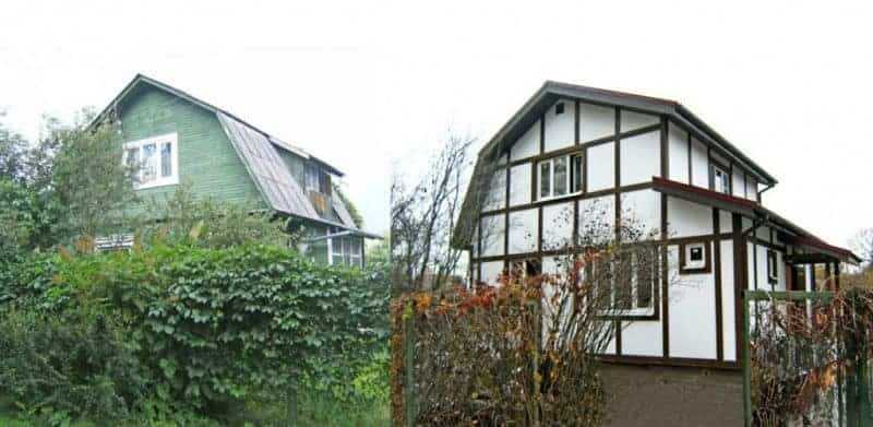 реконструкция и достройка домов